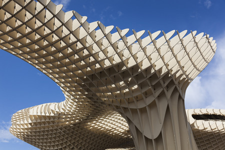 metropol parasol: Metropol Parasol in the Square of the Encarnacion, Seville, Andalusie, Spain