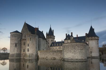 sully: Castle of Sully-Sur-Loire, Loiret, Centre-Val de Loire, France Editorial
