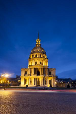bonaparte: Chapel Saint Louis des Invalides, burial place of Napoleon Bonaparte, Paris, Ile-de-france, France