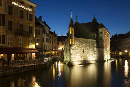 palais: Palais de l�le, Annecy, Savoie, Rh�ne-Alpes, France Stock Photo