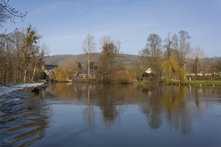 normandy: Orne River, Clecy, Swiss Normandy, Normandy, France