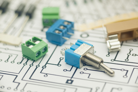 components: Electronic components and PCB design