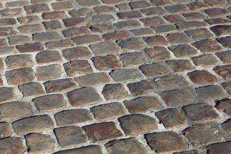 pas: Cobblestones of Arras, Pas de Calais Department, Nord-Pas de Calais Picardie region, France