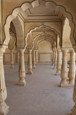Amber Fort near of Jaipur, Rajasthan, India