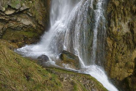Cascade de Syratus, Mouthier-Haute-Pierre, Doubs,  Bourgogne-Franche-Comte, France