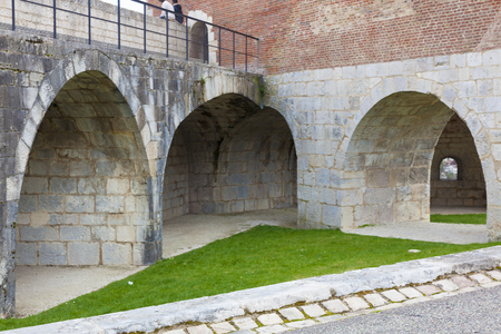 Citadelle of Besancon,  Doubs, Bourgogne-Franche-Comte, France Stock Photo