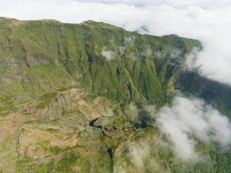 Mountains in the Pico do Areeiro, Madeira, Portugal