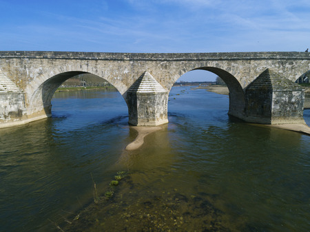 Bridge of Gien, Loiret, Centre-Val de Loire, France
