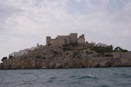 Pescola city in the sea