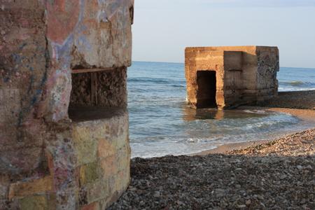 Bunker in the houses of Alcanar