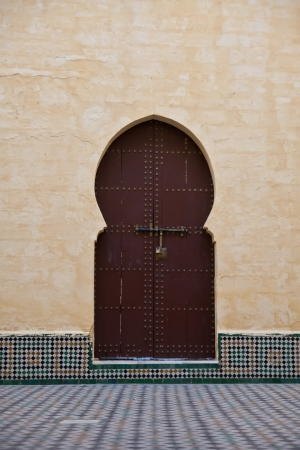 Arab door photo