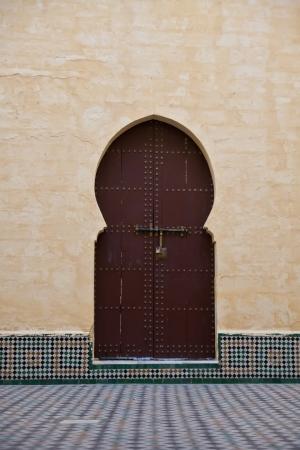 moroccan culture: Arab door