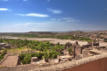 Alcazaba in the desert Stock Photo - 9730558