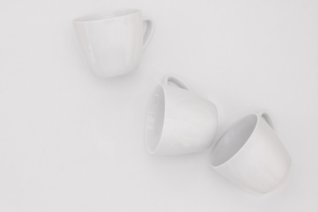 Coffee cups background photo