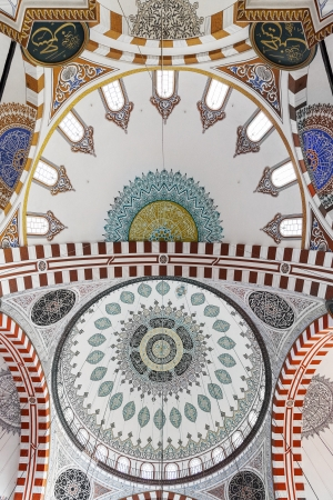mehmed: Dome in the Sehzade Mehmed Camii Mosque in Istanbul, Turkey
