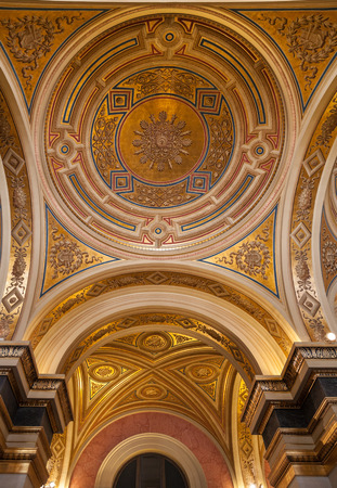 Dome in the Wiener Musikverein, is a concert hall in the Innere Stadt borough of Vienna, Austria  It is the home to the Vienna Philharmonic orchestra