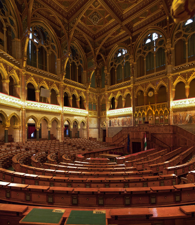 goverment: Chamber of the Lower House of the National Assembly of Hungary