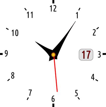 countdown: White clock