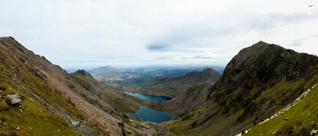 snowdonia: Top view of Snowdonia National Park