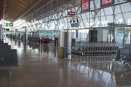 barajas: Nobody at the Airport Editorial