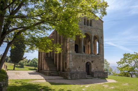 Glise pré-romane de Santa Mar a del Naranco siècle IX Banque d'images - 85178581