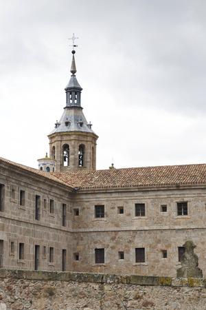 millan: Monastery of Yuso, in San Millan de la Cogolla, La Rioja, Spain. UNESCO World Heritage Site since 1997.