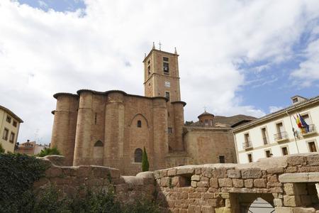 Monastère de Santa Maria La Real à Najera, La Rioja, Espagne. Une partie du Chemin de Saint-Jacques.