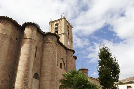 Santa Maria La Real Monastery in Najera, La Rioja, Spain. Part of the Way of St. James.