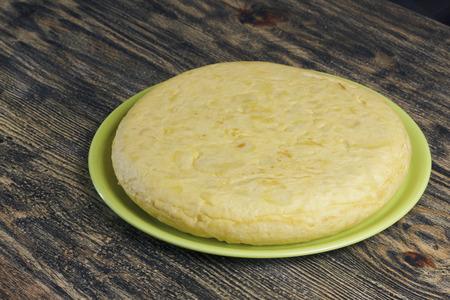 Omelette espagnole traditionnelle, appelée