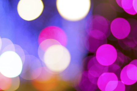 Abstract bokeh city light background. Bokeh background.