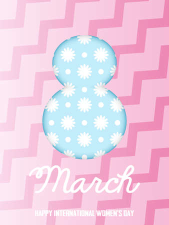 This is a art on the theme of the holiday on March 8, with high resolution available for download.