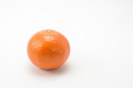 mandarina: Mandarina dej? m? s white background