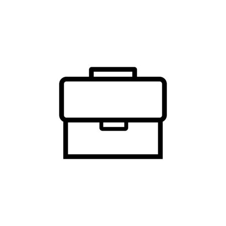 Briefcase Icon Vector Illustration Template. bag icon. eps 10