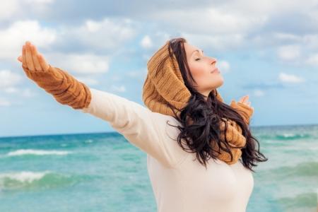 gelukkig leven ademhaling diep
