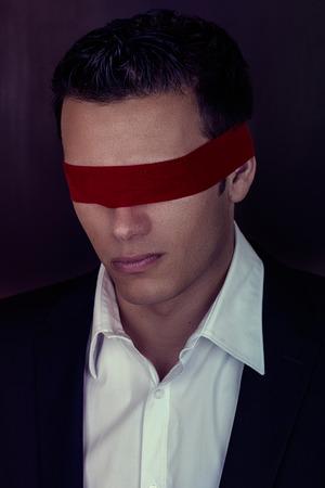 blindness business consultation man ribbon photo