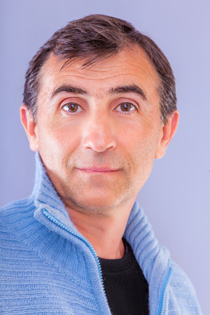 50 years portrait of male  Banco de Imagens