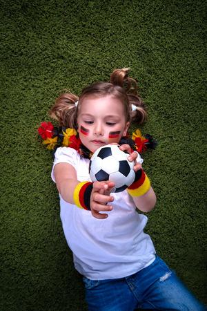 german girl: playful little german girl