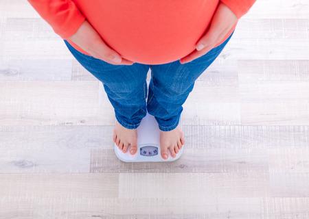 Testen, ob die Diät erfolgreich war Standard-Bild - 44339075