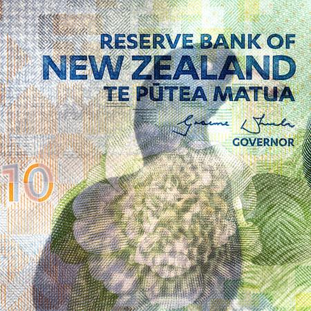 New Zeland Currency - Ten Dollars