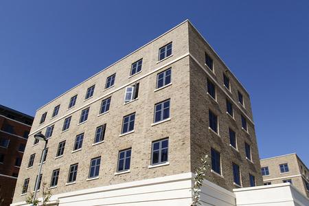 Swansea, UK: June 17, 2017: Student accommodation building at Swansea University Bay Campus Sajtókép