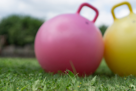 large-sized rubber balls for gym practice