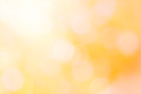 colorful of bokeh  light blurred  with yellow abstract background Stock Photo