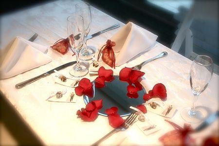 Wedding table Фото со стока