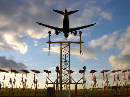 boeing 747: Aircraft Landing