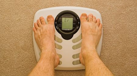 kilo: scale reading error with feet