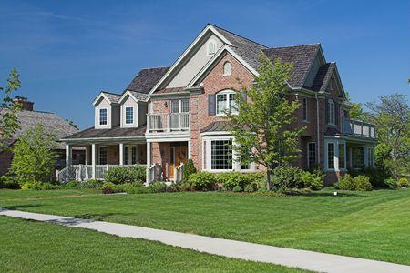 executive luxury home Фото со стока