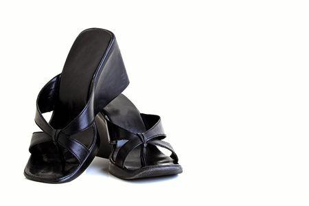womens black shoes photo