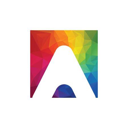 A letter logo vector design. Creative Letter A letter logo design.