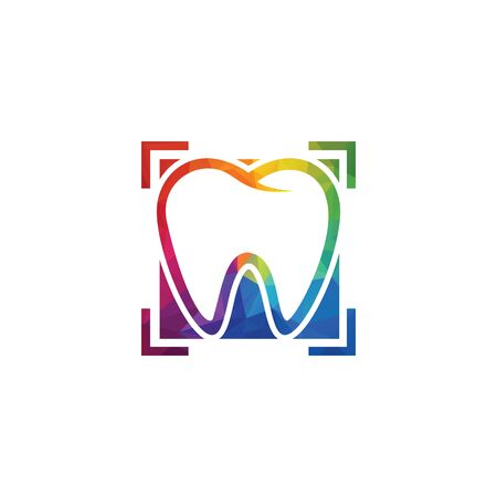Dentist and dentistry clinic vector logo design.