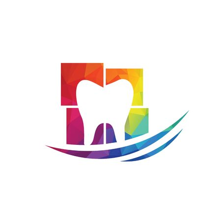 Dentist and dentistry clinic vector logo design.